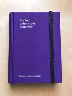 Purple Pocket Notebook