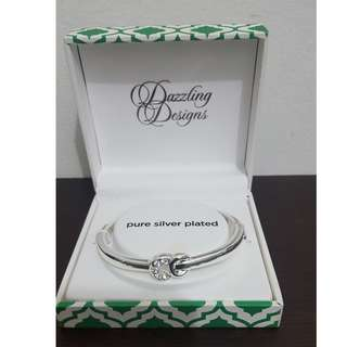 New! Silver Plated Bangle