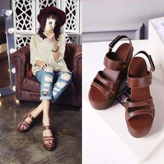 Size 34-39 Peep Toes Wedges