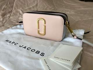 Marc Jacobs Snapshot bag in pale pink