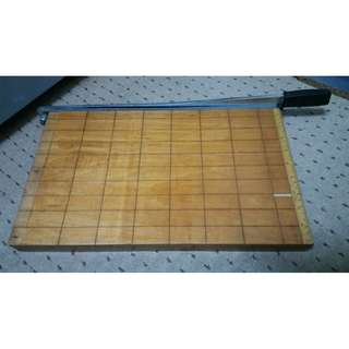 A3 Steel and Wooden Base Paper Cutter