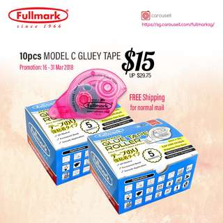 10pcs Fullmark Model C Glue Tape - Special Promotion