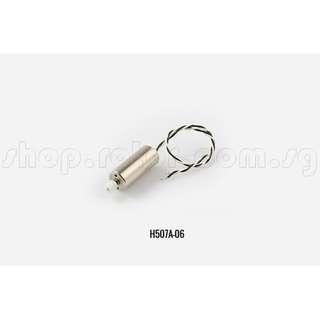 Hubsan H507A Motor, B, CCW, Black & White. Code: H507A-06