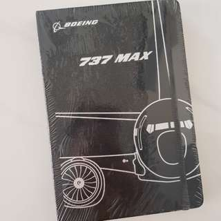 Boeing 737 MAX 8 note book LIMITED ED