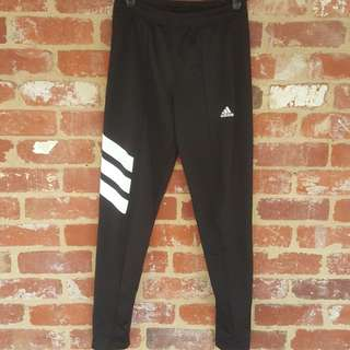 Rare Adidas Black Skinny Track Pant Joggers