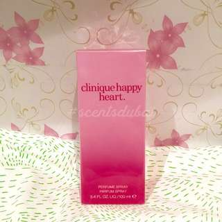 Authentic fresh from Dubai - CLINIQUE HAPPY HEART