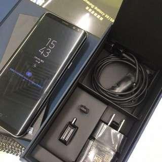 85%新Samsung s8 plus 128GB 6GB RAM韓版單卡