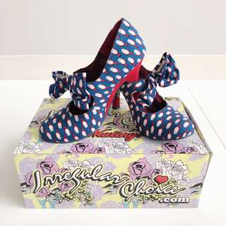 Bird Mary Jane Shoes by Irregular Choice