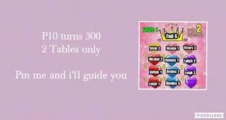 10 turns 300