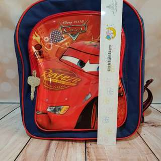 Disney Lightning Mcqueen backpack