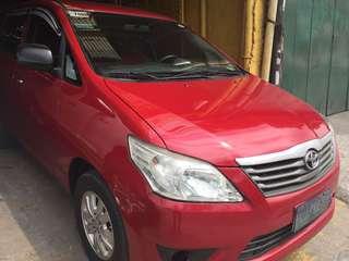 2012 Toyota Innova E