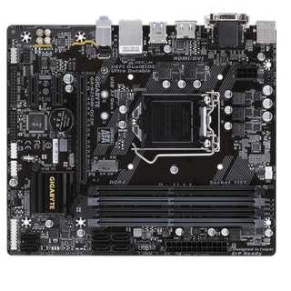 (二手) 97%NEW 技嘉Gigabyte GA-B250M-DS3HV DDR4,LGA 1151,M-ATX主機板