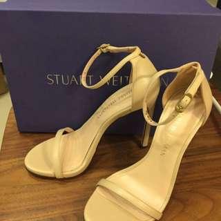 🚚 Stuart Weitzman 裸高跟鞋 經典款