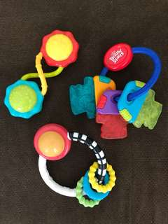 Bright Starts Rattle and Teething Toys