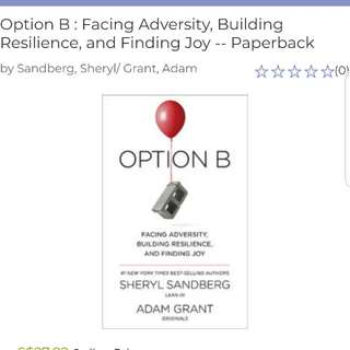 Option B - Facing adversity, building resilience and finding joy