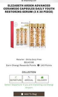 Elizabeth Arden Ceramide Capsules Daily Youth Serum