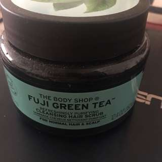 Bodyshop Fuji Green Tea Hair Scrub