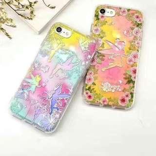 手機殼IPhone6/7/8/plus(沒有X) : 花仙子浮雕軟殼