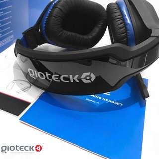【高音質全新】【英國】GIOTECK - 遊戲專用頭帶式有線耳機/for PS4 XBOX ONE PC/HC 2(原價156一隻!)