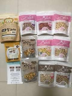 韓國嬰幼兒輔食品(適合6~15個月)