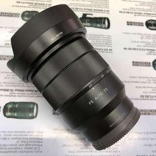 Sony FE 16-35 F4