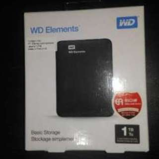 Hardisk External WD Element 1TB