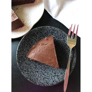 生酮低醣-蒙克羅巧克力乳酪蛋糕