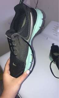 Nike running shoes soft soles