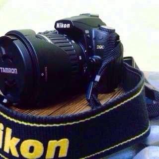 NIKON D90 DSLR WITH TAMRON 17-50mm