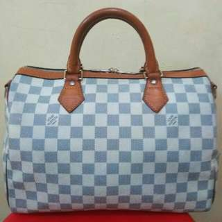Tas authentic LV Damier Azur