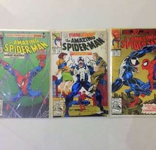 3 For $21!! Marvel Amazing Spider-Man Comics