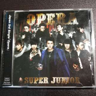 🚚 Super Junior 日專Opera-CD+DVD