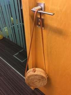 Rattan round bag 20 cm