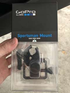 Gopro Sportsman Mount - Original, For Gun, Rod, Bow
