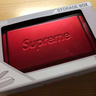 Supreme/Sigg Small Metal Box Plus 2018 現貨(細)