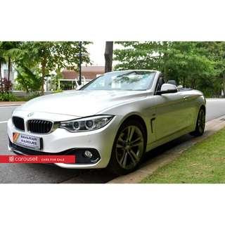 BMW 4 Series 420i Convertible Sport
