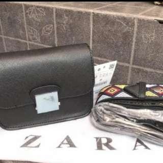Zara strap bag ORIGINAL