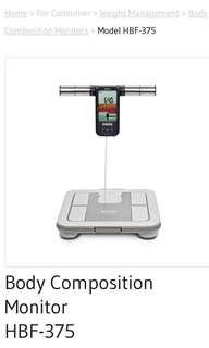 Omron karada scanner hbf-375 weighing scale
