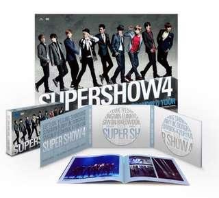 Super Junior Super Show 4 SS4 DVD (99%新)