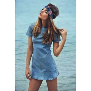 The Closet Lover Premium sunkissed denim dress