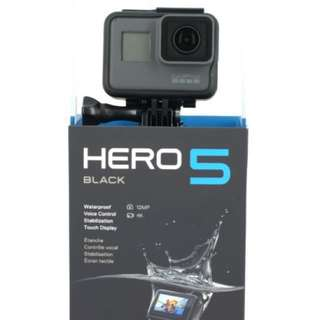 *CHEAP* GoPro Hero 5 (waterproof)!