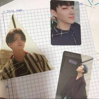 WTS Got7 7 For 7 Normal / Present Edition Photocards