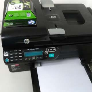 HP 4500 all in 1 printer 打印機
