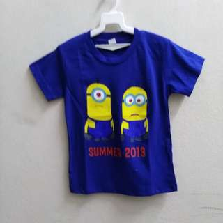 Kids minion T Shirt