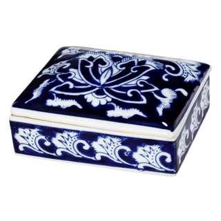 Royal Blue Dynasty Trinket Box