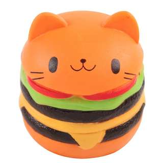 BN Squishy burger kitten