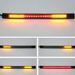 48-LED Motorcycle Flexible Rear/Signal/Brake Light
