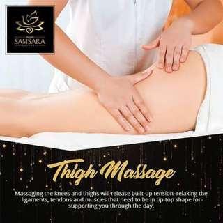 Thigh Massage