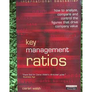 Key Management Ratios (Financial Times Series) 4th Edition by Ciaran Walsh