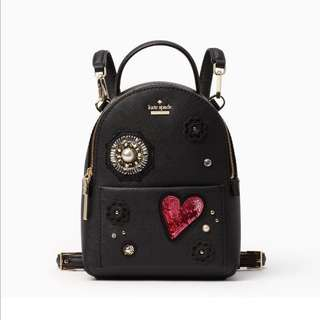 SALE Kate Spade Finer Things Embellished Merry Mini Backpack